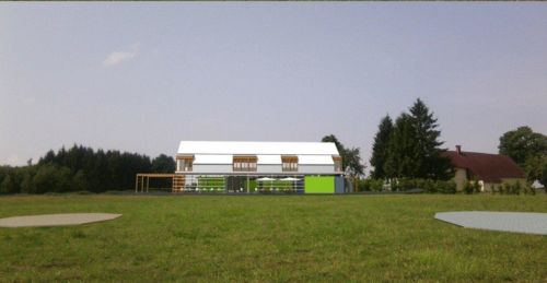 Výstavba klubovny
